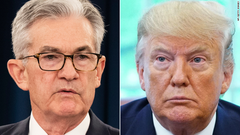 Trump rips Federal Reserve chief: I have right to fire him