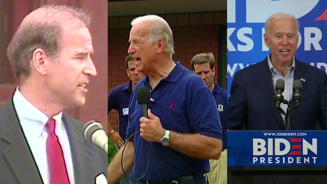 Joe Biden takes stage with more debate experience than his opponents