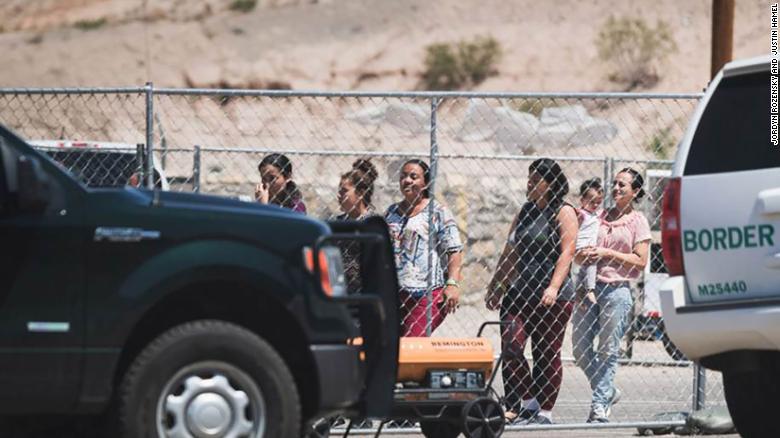 The Ysleta Border Patrol in El Paso, Texas.