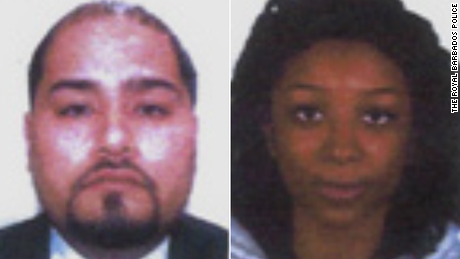 Oscar Suarez, 32, and Magdalena Devil, 25, have not been seen since they rented a jet ski in Barbados on Monday.