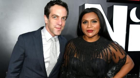 B.J. Novak and Mindy Kaling have remained friends after their breakup.