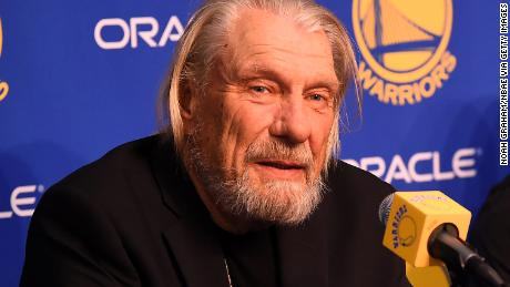 OAKLAND, CA - FEBRUARY 21: Former NBA Player Don Nelson talks at the press conference before the game between the Sacramento Kings and the Golden State Warriors on February 21, 2019 at ORACLE Arena in Oakland, California. NOTE TO USER: User expressly acknowledges and agrees that, by downloading and or using this photograph, user is consenting to the terms and conditions of Getty Images License Agreement. Mandatory Copyright Notice: Copyright 2019 NBAE (Photo by Noah Graham/NBAE via Getty Images)