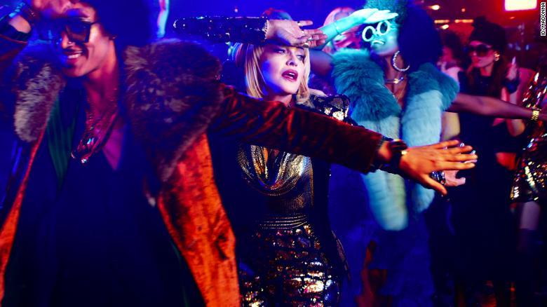 Madonna in 'God Control'