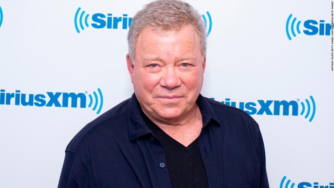 William Shatner would play Captain Kirk again for Tarantino -- but don't ask him to really go into space