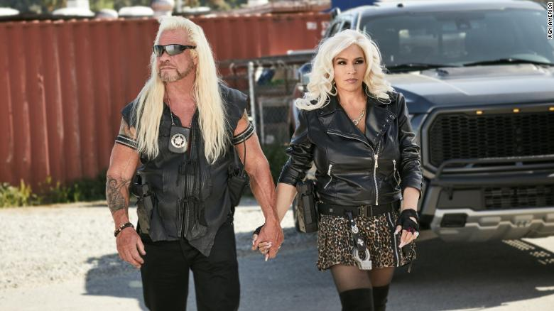 """Duane """"Dog"""" Chapman and Beth Chapman in their WGN America series """"Dog's Most Wanted."""""""