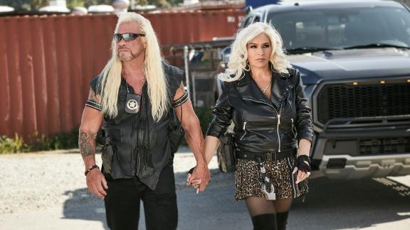 "Duane ""Dog Chapman"" and Beth Chapman in their WGN America series ""Dog's Most Wanted."""