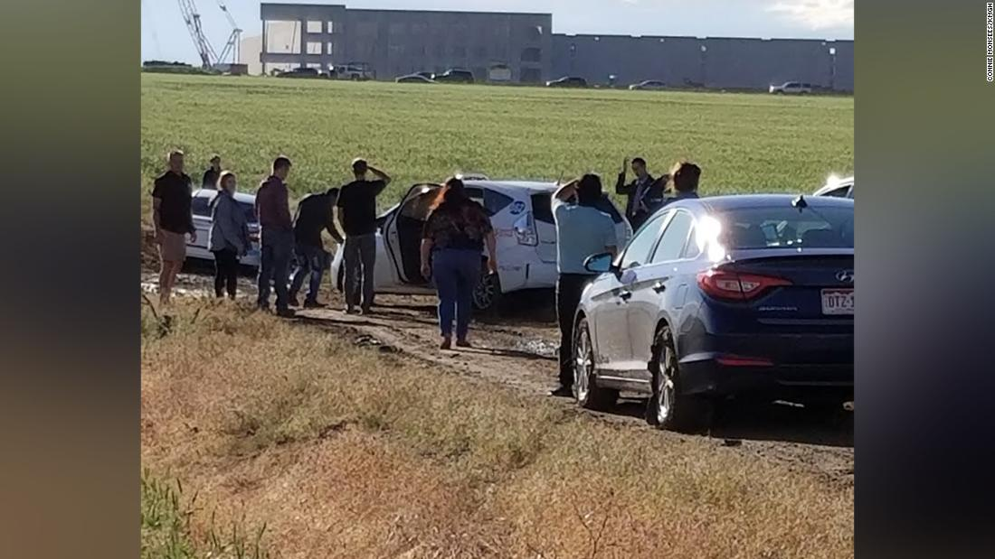 Nearly 100 drivers followed a Google Maps detour -- and ended up stuck in an empty field