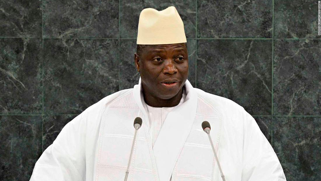 Gambia's ex-president Yahya Jammeh accused of rape and sexual assault