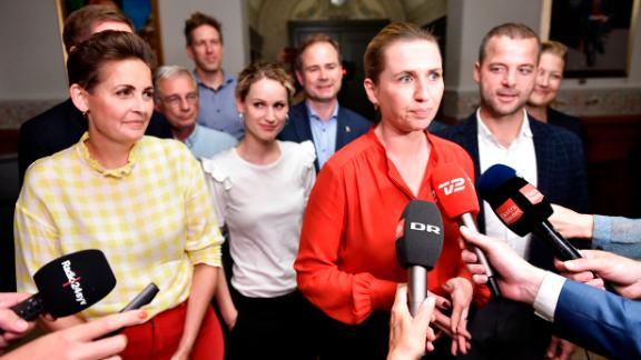 Mette Frederiksen announced she will form a minority government backed by three other parties.