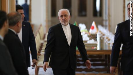 US sanctions Iran's Foreign Minister Zarif