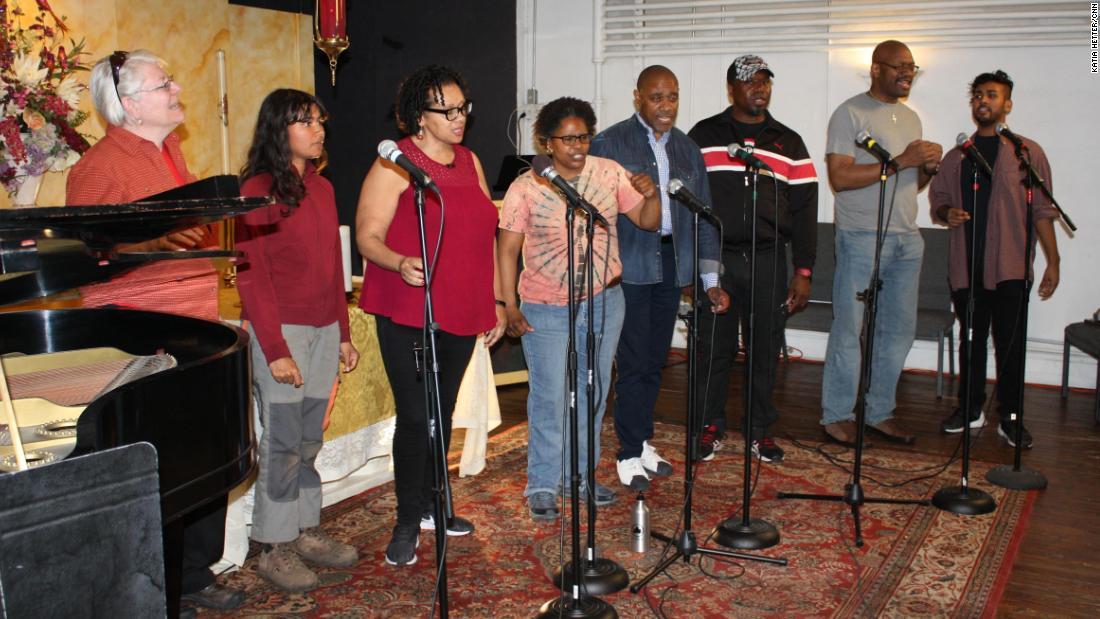 Lavender Light Gospel Choir sings