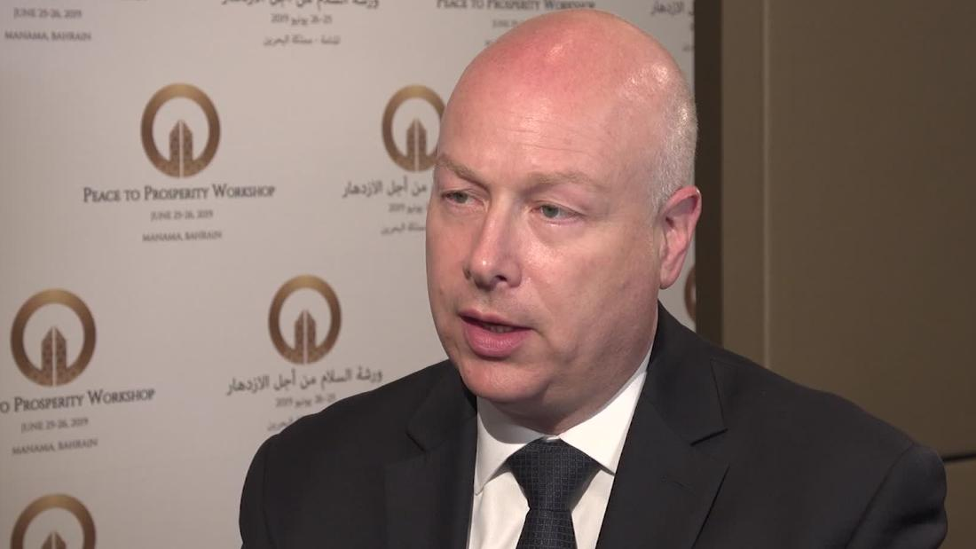 Jason Greenblatt on Israel: I haven't found anything to criticize