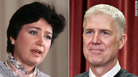 Anne Burford, the first woman to lead the EPA, was held in contempt of Congress in 1983. Her son, Neil Gorsuch, now sits on the Supreme Court.