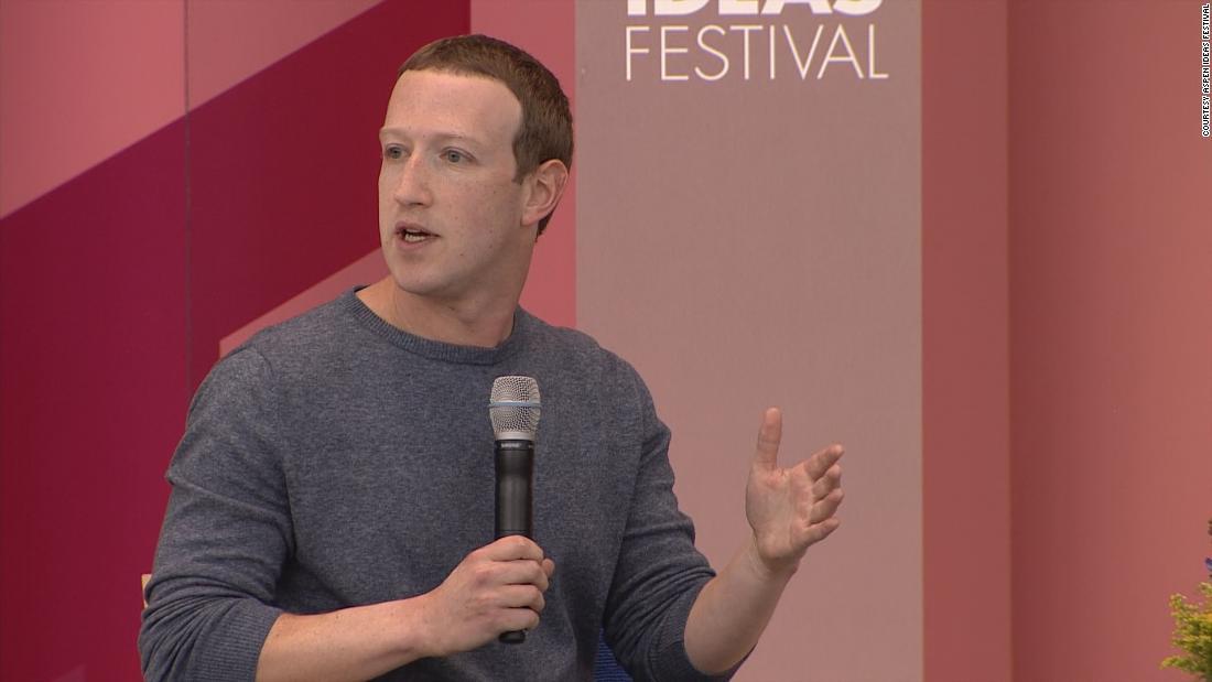 Mark Zuckerberg makes the case for not breaking up Facebook