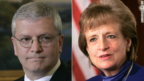 White House chief of staff Josh Bolten and White House counsel Harriet Miers both worked in the George W. Bush administration.
