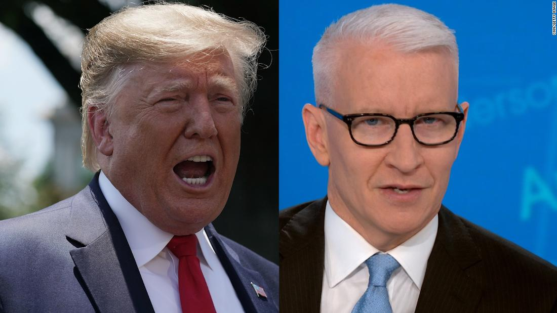 Anderson Cooper debunks Trump's new smear about Mueller