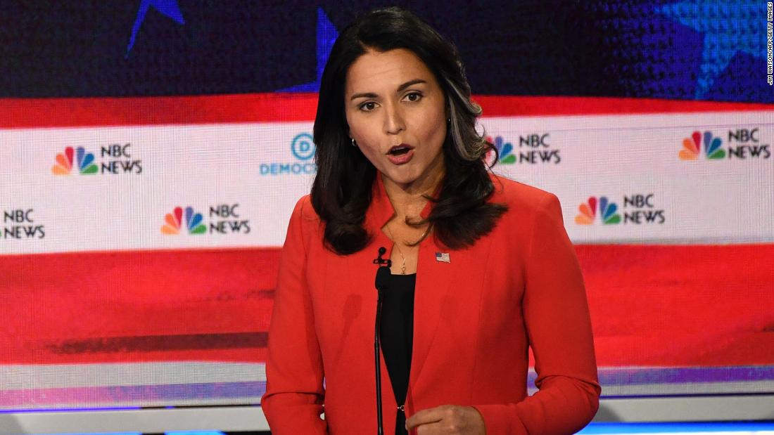 Tulsi Gabbard slams Kamala Harris as 'not qualified to serve as commander in chief'