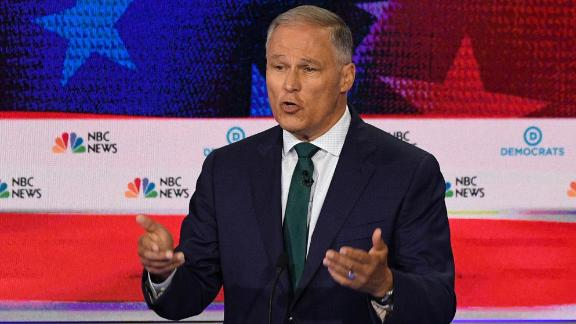 Inslee is serving his second term as Washington