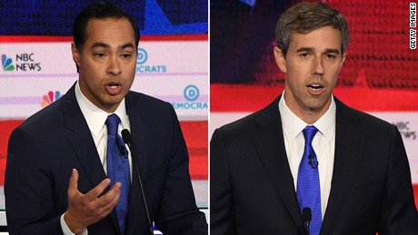 Castro and O'Rourke's head-on clash over immigration