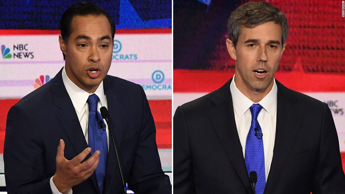 Julián Castro and Beto O'Rourke spar in fight that appeared deeper than just policy