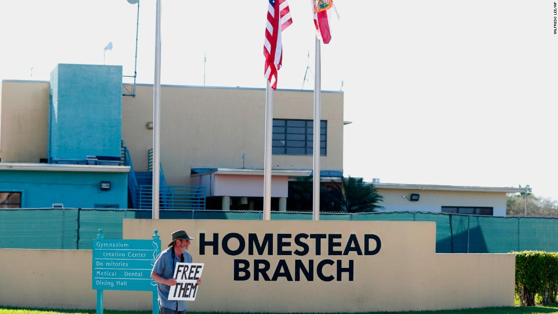 Inside a Florida migrant facility that