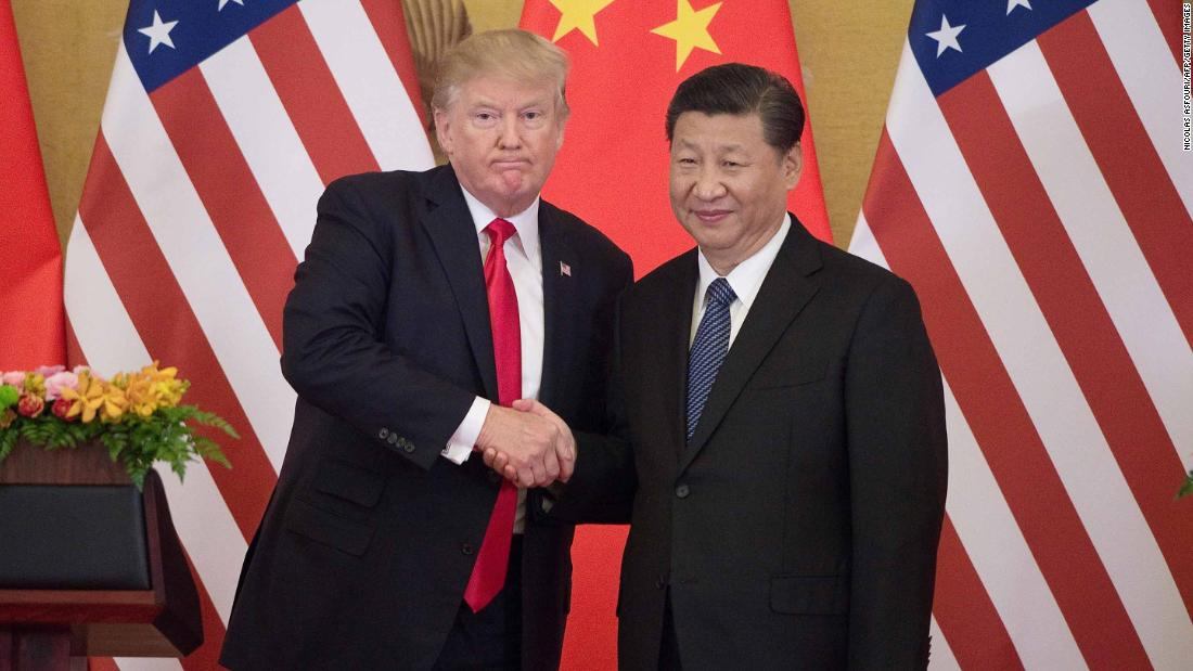 Trump claims he has 'absolute right' to order US companies out of China under 1977 law