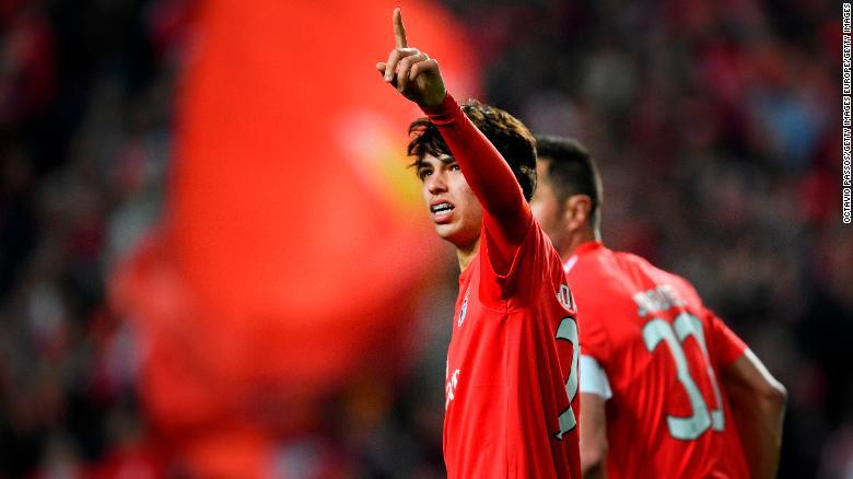Joao Felix has enjoyed a stunning breakthrough season with Benfica.