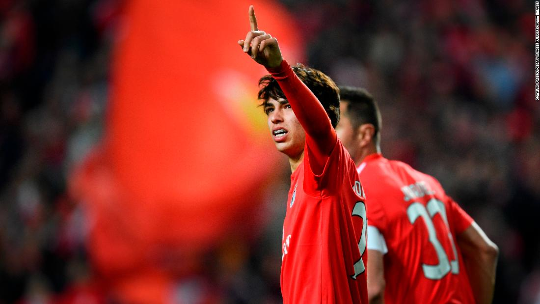 Joao Felix: Benfica considers $143 million offer from Atletico Madrid for teen star
