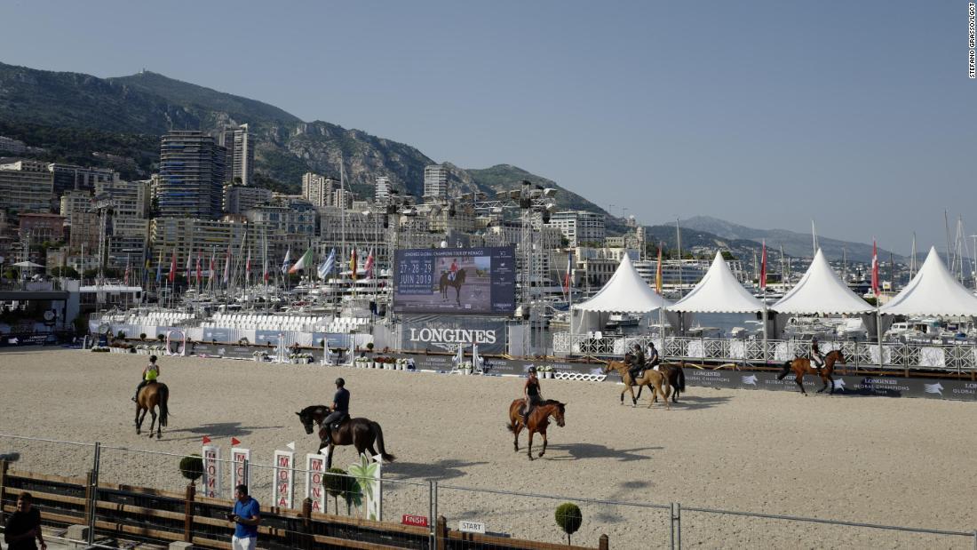 Global Champions Tour takes horse power to Monaco