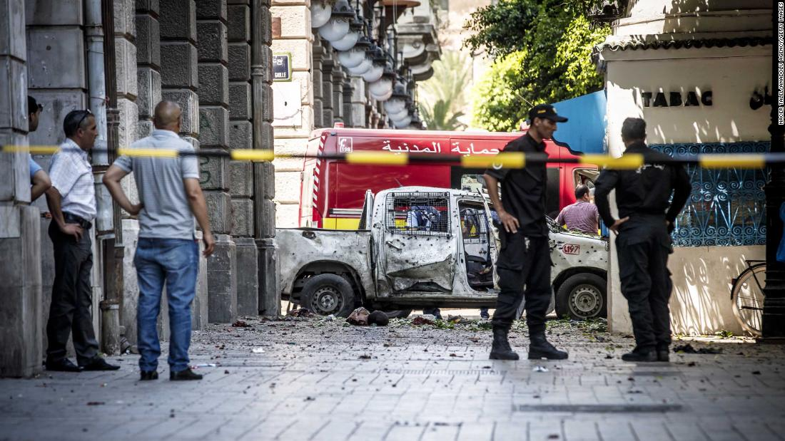 Two suicide attacks hit Tunisia's capital