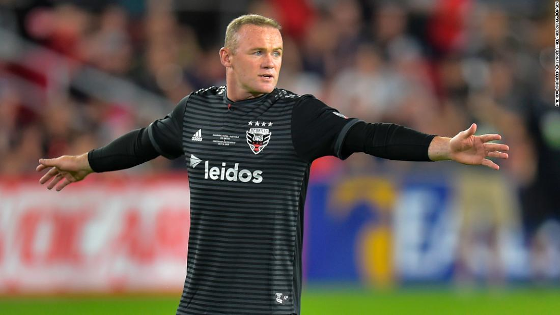 95b9fd36d Wayne Rooney scores 70-yard screamer from beyond the halfway line for DC  United - CNN