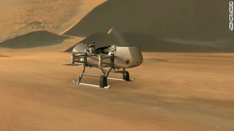 NASA's new mission, Dragonfly, will explore Saturn's moon Titan