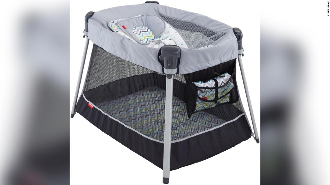 Fisher-Price recalls 71,000 infant inclined-sleeper accessories