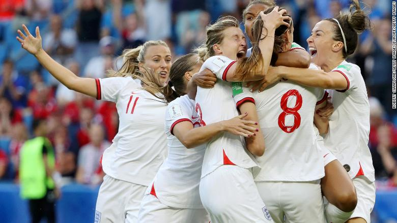 England scored the fastest goal at this year's Women's World Cup.