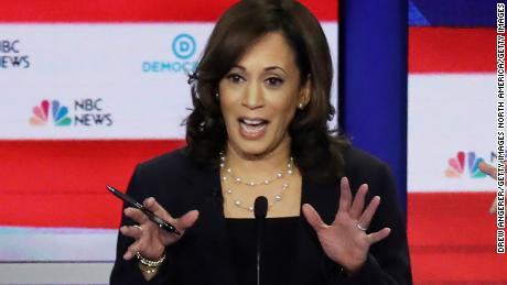 Kamala Harris shines in commanding Democratic debate performance