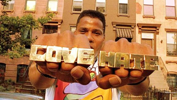 Bill Nunn stars as Radio Raheem.
