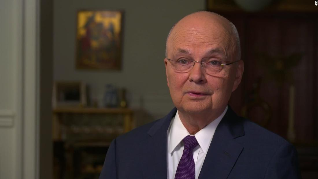 Ex-CIA chief slams Trump's comments on election interference in first interview since stroke