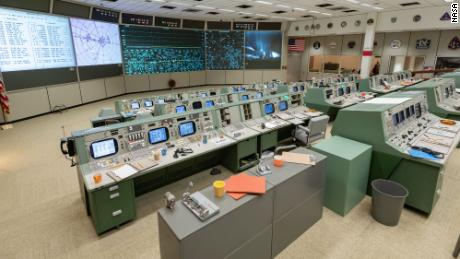 Apollo Mission Control Center restored to its former glory