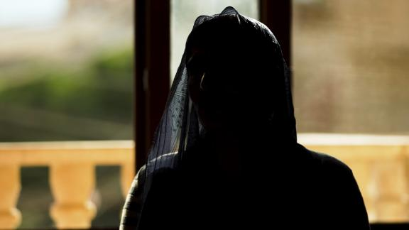 Nadia, a woman from the Yazidi ethnic minority, escaped ISIS in Sinjar before being trafficked into sexual slavery in Baghdad.
