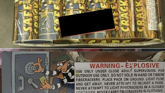 The recalled fireworks reportedly are overloaded with pyrotechnics.