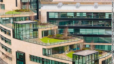 Green roofs can keep buildings cool during the summer.