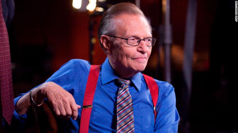 """<a href=""""https://www.cnn.com/2021/01/23/us/larry-king-dies-trnd/index.html"""" target=""""_blank"""">Larry King,</a> the longtime CNN host who became an icon through his interviews with countless newsmakers, died January 23 at the age of 87."""