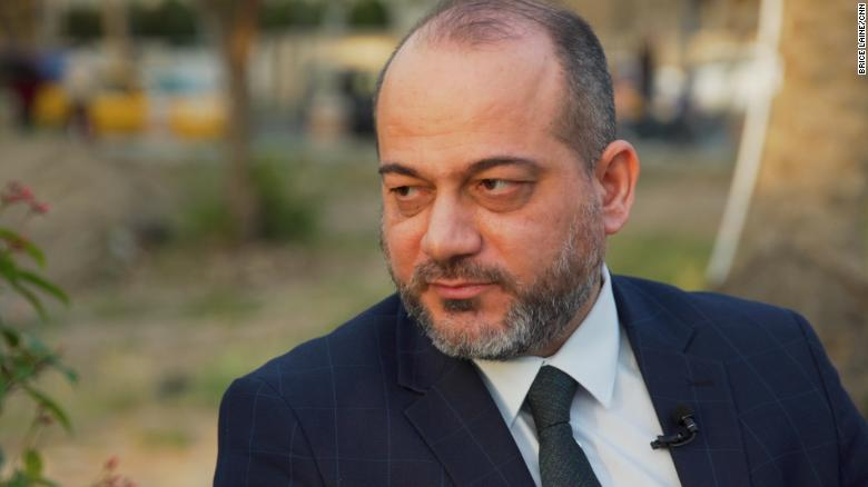 Dr. Ali Akram al-Bayati works to combat human trafficking as part of the Iraqi High Commission for Human Rights, which was set up and funded by the government.