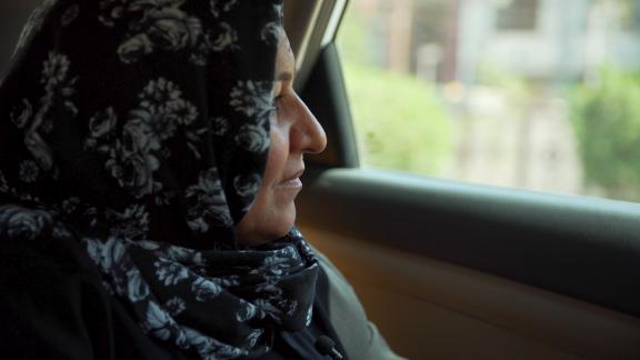 Iman al-Silawi, the head of the NGO where Ahlam sought shelter, says they try to identifying potential victims before they are trafficked.