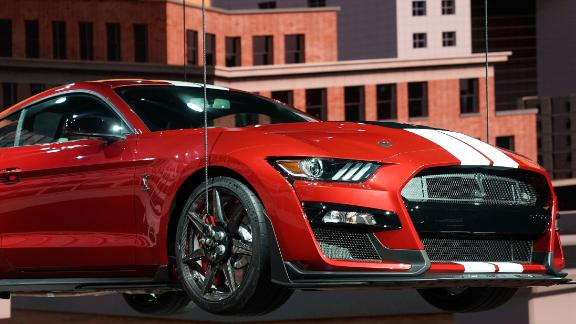 The Ford Shelby GT500 can produce more horsepower than the Ford GT supercar. It's the most poweful road-going car Ford has ever produced.