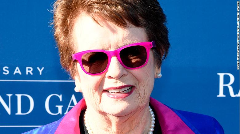 Billie Jean King has won Wimbledon six times.