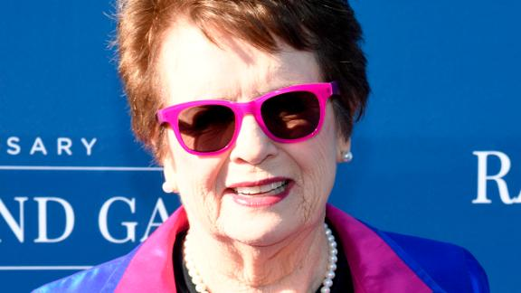 Billie Jean King has won Wimbledon six times.