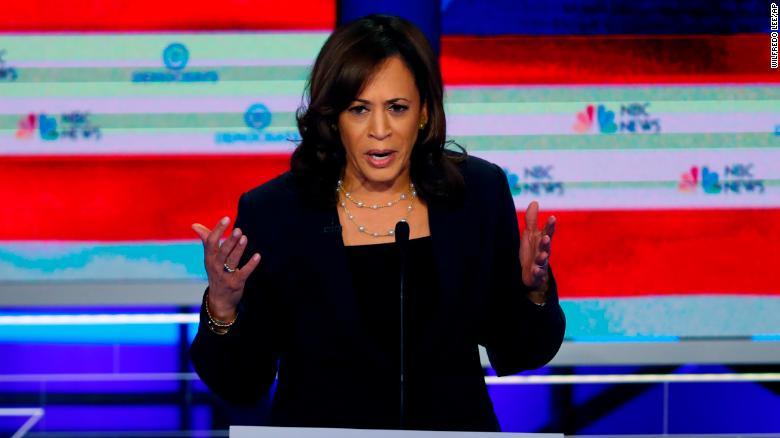 2020 Democrats Kamala Harris Tries To Seize On Momentum By Pushing Clash With Joe Biden Cnnpolitics