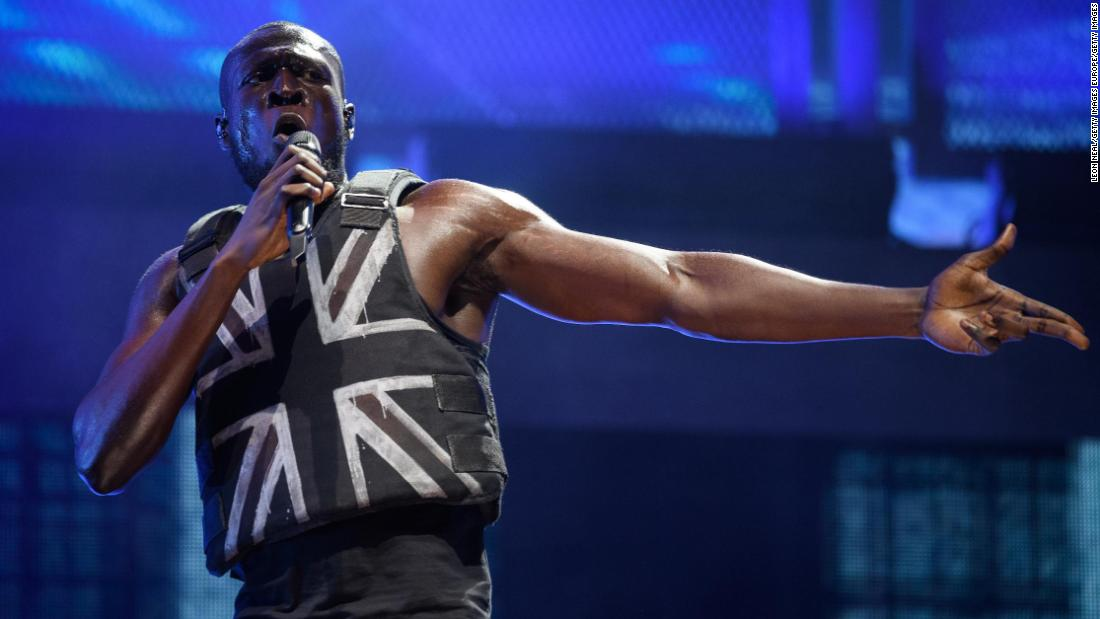 Banksy designs stab-proof vest for Stormzy ahead of history-making Glastonbury set