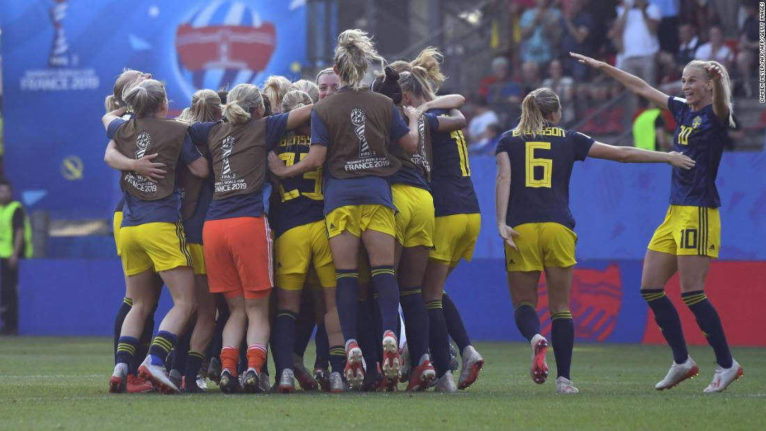 Women's World Cup: Sweden stuns Germany to join Netherlands in